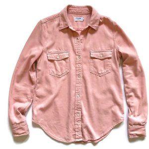 SALE   FRAME Long Sleeve Denim Shirt